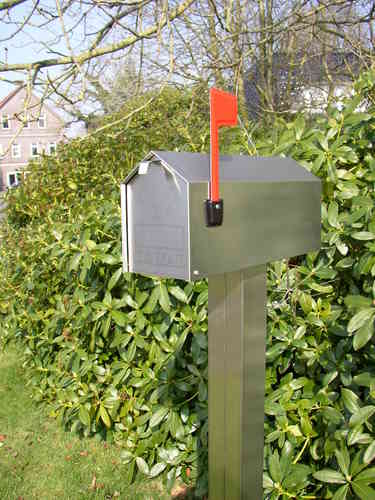 US-Mailbox Edelstahl, Made in Germany